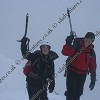At the top of the coire - winter skills scotland